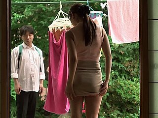 Innocent Japanese babe has all round handle a fast rabbi treatment