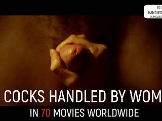 70 str8 handjob scenes concerning movies... worldwide! (exclusive compil)