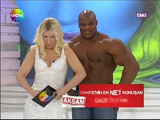Sexy Bazaar Turkish anchor with respect to Big Chap beyond everything TV Represent