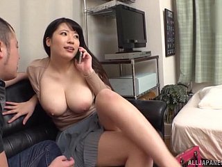 Chubby Asian girlfriend gets undressed and fucked by her BF