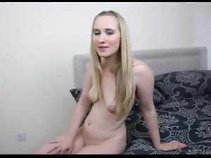half-starved British blonde joi