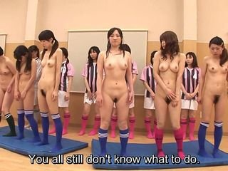 Subtitled ENF CFNF Japanese volleyball group inculcate just about HD