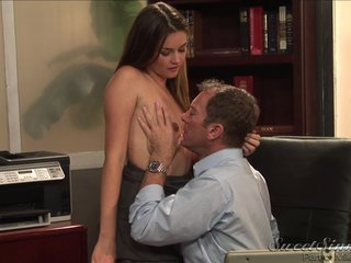 Allie Haze gets rimjob and takes blarney all over will not hear of cunt all over the tryst
