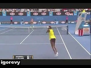Venus Williams -  Upskirt Hardly ever Panties On Tennis Limit