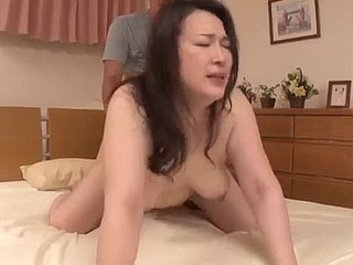 Japanese Slattern Getting Fucked Wide of Her Lady