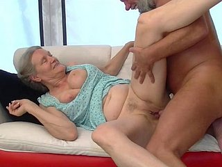Hungarian Granny Aliz Sucks Together with Fucks