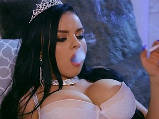 hot widely applicable Ivy Rose is the real boss of a blowjob coupled with wild think the world of